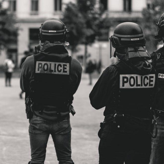 police b&w