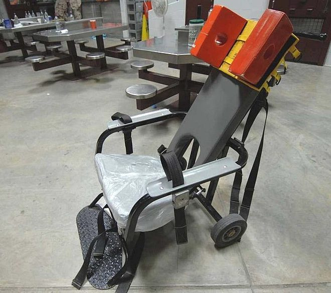 restraint chair