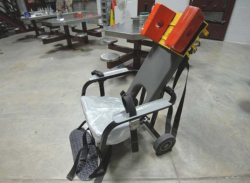 restraint chair
